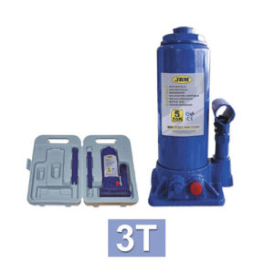 JBM Gato botella con caja plástica 3 toneladas – 51906