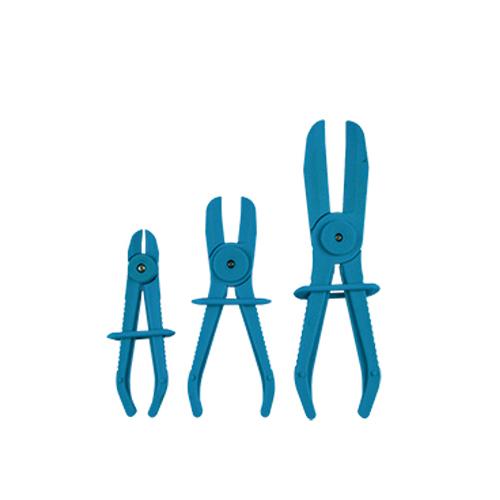 JBM Juego de tres pinzas para mangueras flexibles 52066