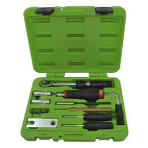 JBM Kit de herramientas para montaje y desmontaje de válvulas TPMS – 52818