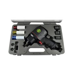 JBM Kit pistola impacto de 1/2″  composite + vasos – 51207