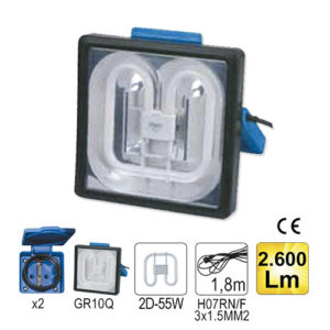 JBM Lámpara de inspección 55w cuadrada – 52232