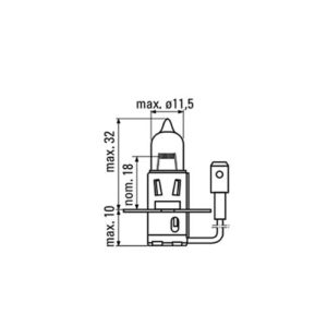 JBM Lámpara OBN h3 – 52363