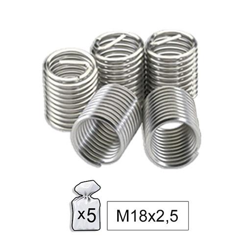 JBM Recambio helicoil m18x2.5 52024