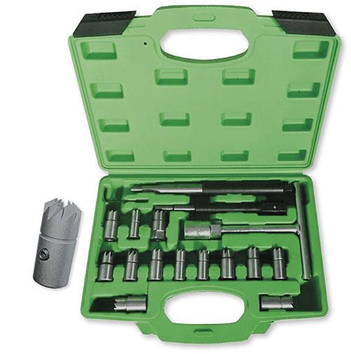 JBM Set 17 piezas escariador inyectores 52813