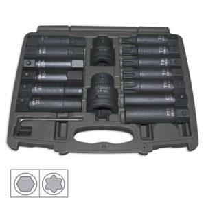 JBM Set de 16 puntas de impacto – 51028