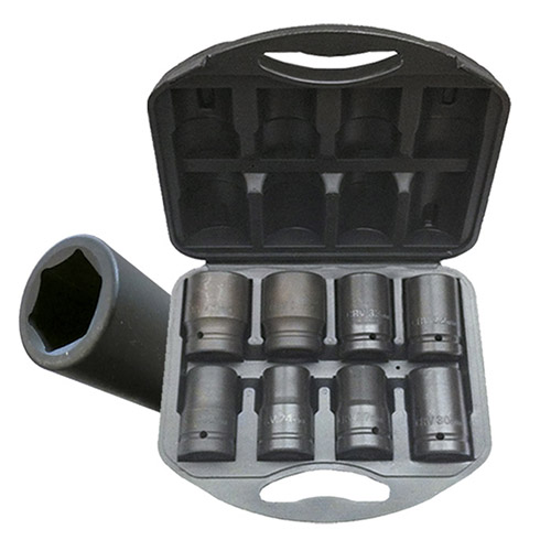 "JBM Set de 8 vasos 1"" para multiplicador de fuerza 52056"