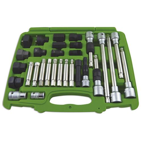 JBM Set de extracción de poleas de 30 piezas 52293
