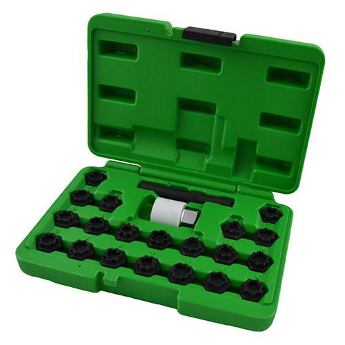 JBM Set de tornillos de seguridad para grupo vag 52823