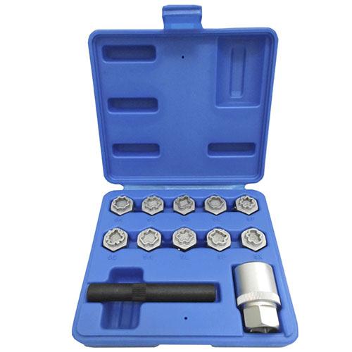 JBM Set extractor tornillos de seguridad Mercedes 53328