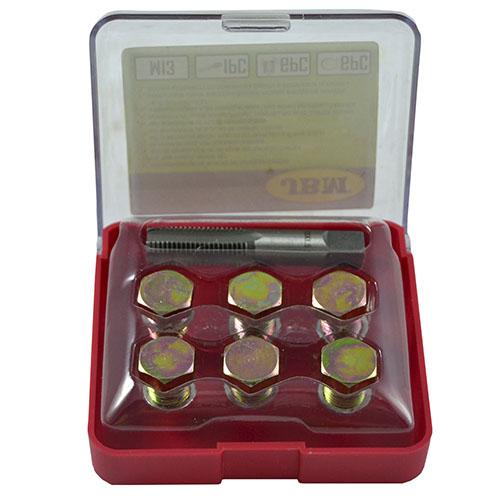 JBM Set reparador de roscas de tapón de cárter (m-13) 53235