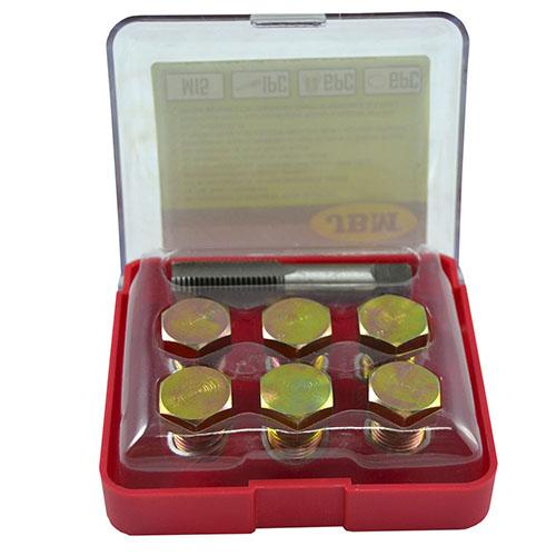JBM Set reparador de roscas de tapón de cárter (m-15) 53236
