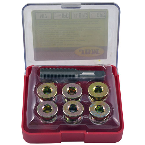 JBM Set reparador de roscas de tapón de cárter (m-17) 53237