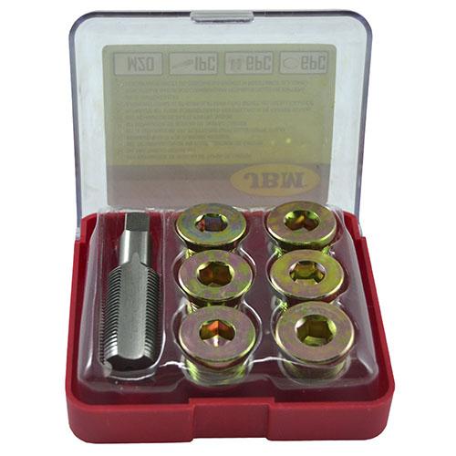 JBM Set reparador de roscas de tapón de cárter (m-20) 53238