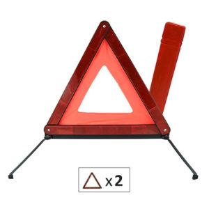 JBM Triángulo de señalización doble homologado – 51938