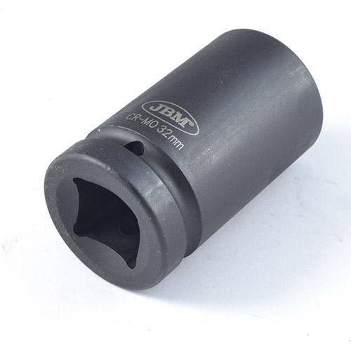 "JBM Vaso de impacto largo hexagonal 1"" 32mm 13747"