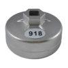 JBM Vaso filtro aceite 74x15mm 11379