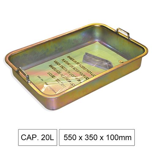 JBM Bandeja de acero para líquidos 51356
