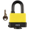 JBM Candado resistente al agua 40mm 53400