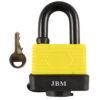 JBM Candado resistente al agua 65mm 53402