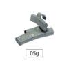 JBM Contrapesa zinc grapa 05gr. especial llanta aleación 50778