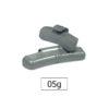 JBM Contrapesa zinc grapa 05gr. especial llanta francesa 50769