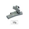 JBM Contrapesa zinc grapa 10gr. especial llanta aleación 50779