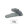 JBM Contrapesa zinc grapa 10gr. especial llanta universal 50761