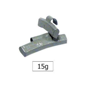 JBM Contrapesa zinc grapa 15gr. especial llanta aleación – 50780