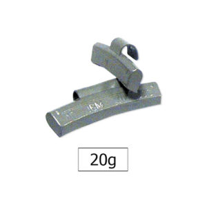JBM Contrapesa zinc grapa 20gr. especial llanta aleación – 50781