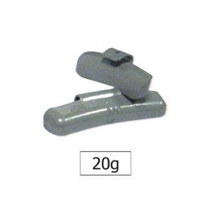 JBM Contrapesa zinc grapa 20gr. especial llanta francesa – 50772