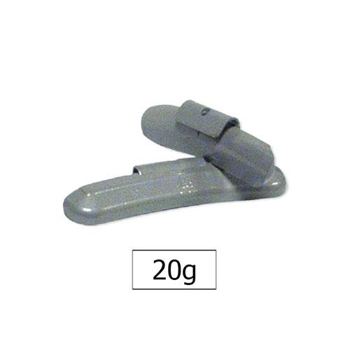 JBM Contrapesa zinc grapa 20gr. especial llanta universal 50763