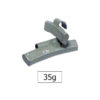 JBM Contrapesa zinc grapa 35gr. especial llanta aleación 50784