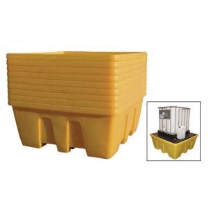 JBM Depósito de almacenamiento 1 container ibc 1.000l – 52807