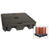 JBM Depósito de almacenamiento 4 bidones verticales 52806