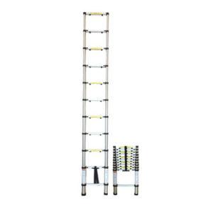 JBM Escalera telescópica 9 pasos – 51983