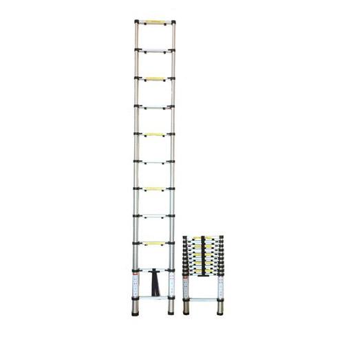 JBM Escalera telescópica 9 pasos 51983