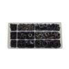 JBM Estuche arandelas growner negras 1.735 piezas 52032