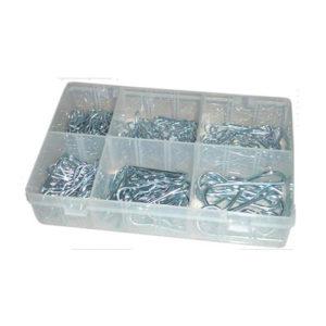 JBM Estuche clips «r» 150 piezas – 52044