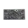 JBM Estuche de arandelas 18 aluminio 900 piezas 52031