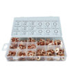 JBM Estuche de arandelas de cobre para inyectores 375 piezas 53340