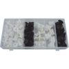 JBM Estuche de clips plásticos Benz 95 piezas 52893