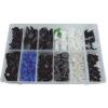 JBM Estuche de clips plásticos Fiat 308 piezas 52900