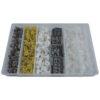 JBM Estuche de clips plásticos Renault 300 piezas 52897