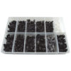 JBM Estuche de clips plásticos Volvo 350 piezas 52901