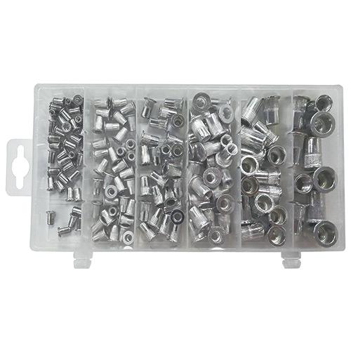 JBM Estuche de remaches tuerca de aluminio 53361