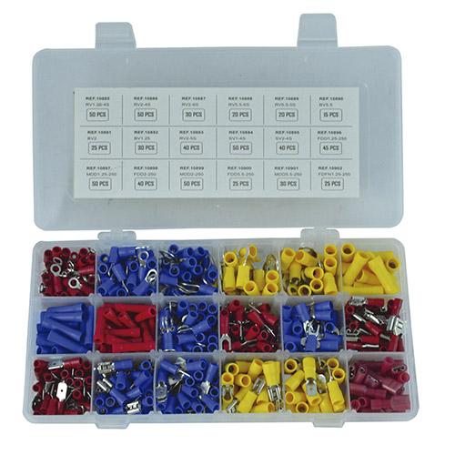 JBM Estuche de terminales 635 piezas 52053