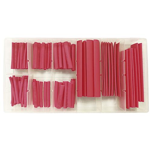 JBM Estuche de tubos termoretráctiles rojos 53376