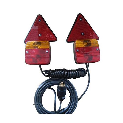 JBM Kit magnético con 2 pilotos + 2 catareflectantes 51886
