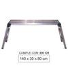 JBM Plataforma de aluminio grande 50913
