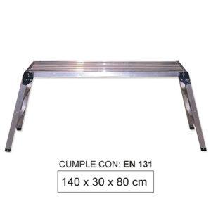 JBM Plataforma de aluminio grande – 50913